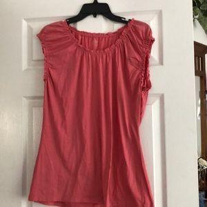Pink Short sleeve LOFT shirt